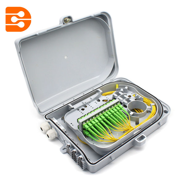 24-Fiber Outdoor Optic Distribution Box