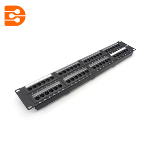 2U 48 Ports Cat.6 UTP Patch Panel
