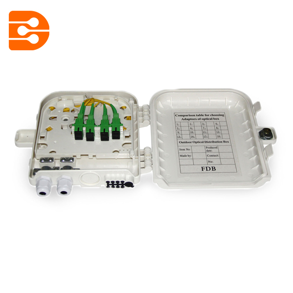 8 Cores Outdoor Fiber Optic Distribution Box
