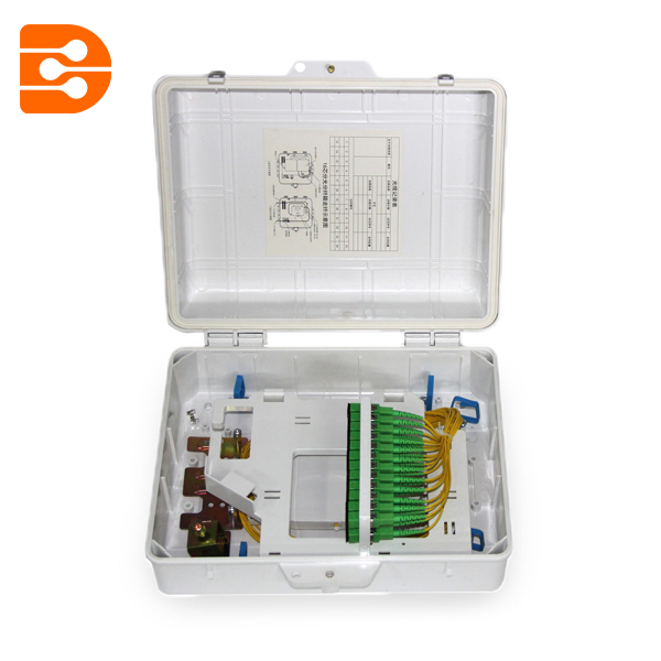 24 Cores Splitter Type Fiber Optic Distribution Box