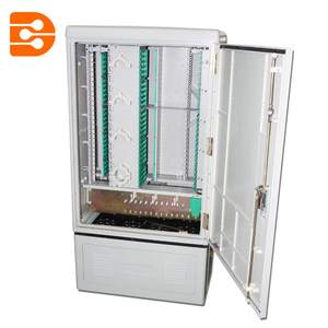 288 Fibers Outdoor Cross Connect Cabinet Distribution Cabinet