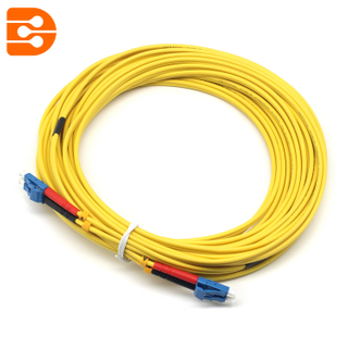 Duplex LC/UPC to LC/UPC SM Fiber Optic Patch Cord