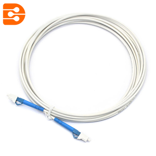 Simplex MU/UPC to MU/UPC SM Fiber Optic Patch Cord