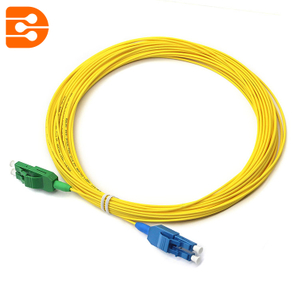 Duplex LC/APC to LC/UPC SM Fiber Optic Patch Cord
