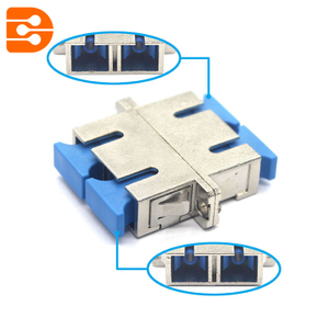 SC/UPC Duplex Adapter Connector