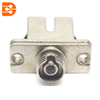 SC/UPC to FC/UPC Simplex Adapter in Metal Case with Flange