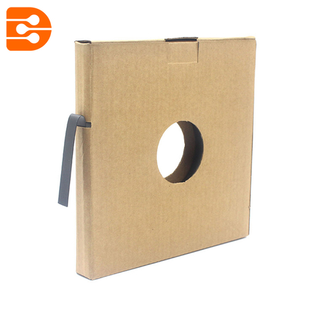 Stainless Steel Epoxy Coated Strap with Cardboard Box