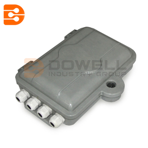 DW-1207 Indoor 8 Cores Fiber Optic Termination Box ITB Wall Mount