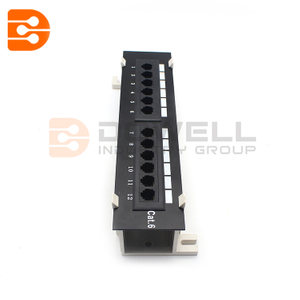 Cat6 Wall-mount Patch Panel