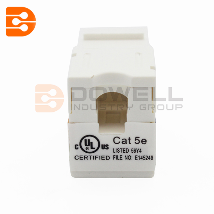 CAT.5E UTP 90 degree toolless Keystone jack