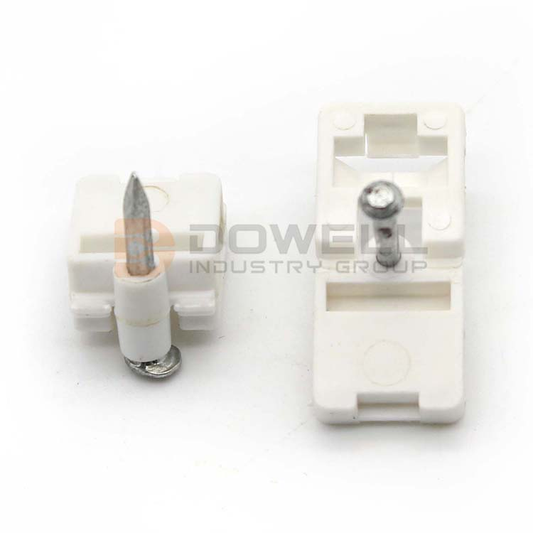 DW-1062 Great Quality Waterproof Outdoor 1 Or 2 Nails Easy Optical Cable Clip