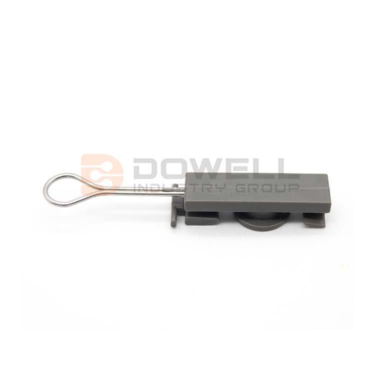 DW-1049 High Strength FTTH Cabling Accessory Drop Telecom Fiber Optic Drop Wire Clamp