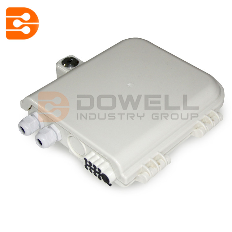 DW-1208 Cheap outdoor 8 cores telecommunication fiber-optic distribution box