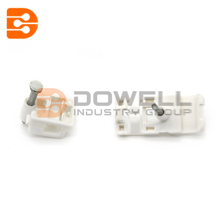 DW-1062 wholesale plastic flat electric wire cable clip