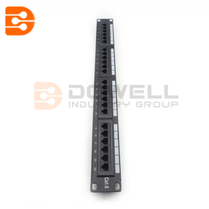 19 Inch Cat6-UTP 24 Port Patch Panel