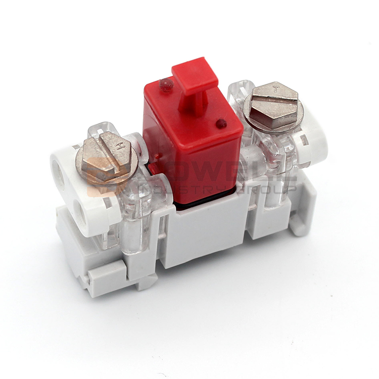DW-5028 PC Housing Single Pair Drop Wire Module With GDT Protection