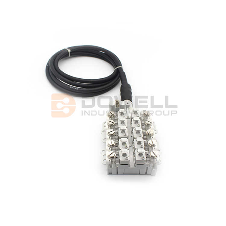 DW-STUB-10 Wire Protection Terminal Block STUB Block