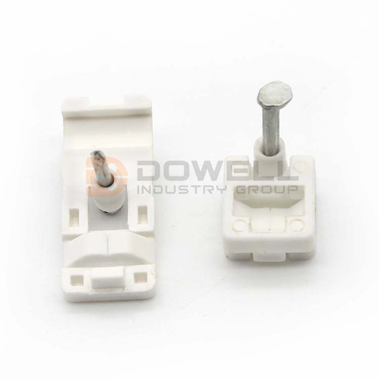 DW-1062 Hot Sale Eco-Friendly FTTH Cabling Accessory/PP Drop Wire Electric Cable Clip