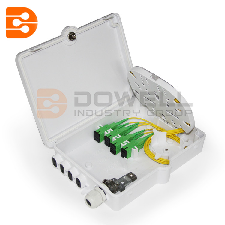 DW-1206 8 Cores Fiber Optic Distribution Box With PLC Module Splitter