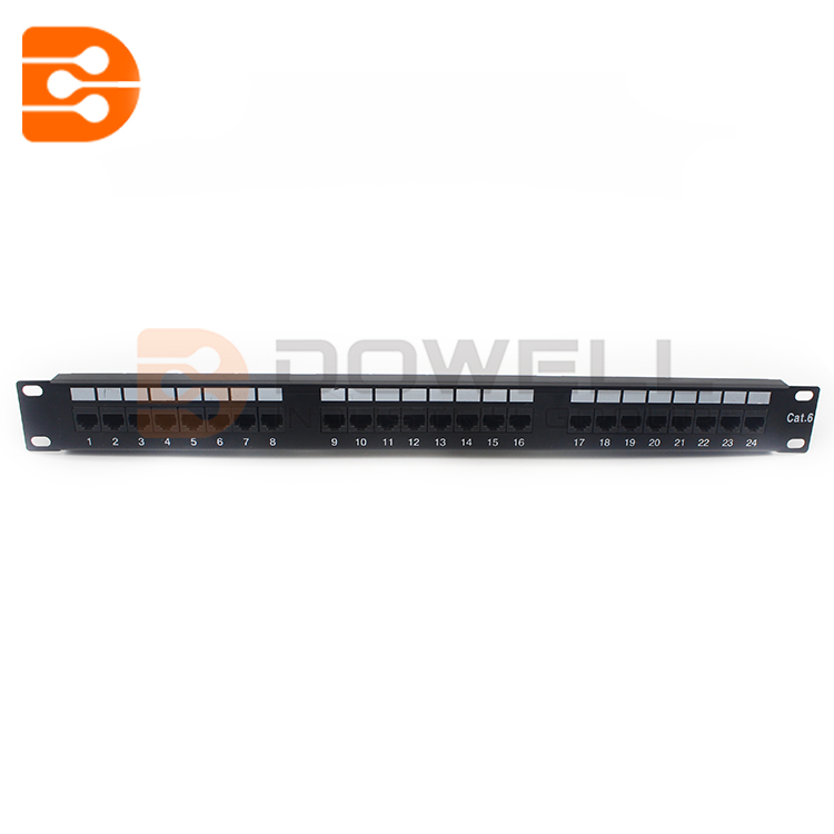 24 Port Cat6 UTP Patch Panel