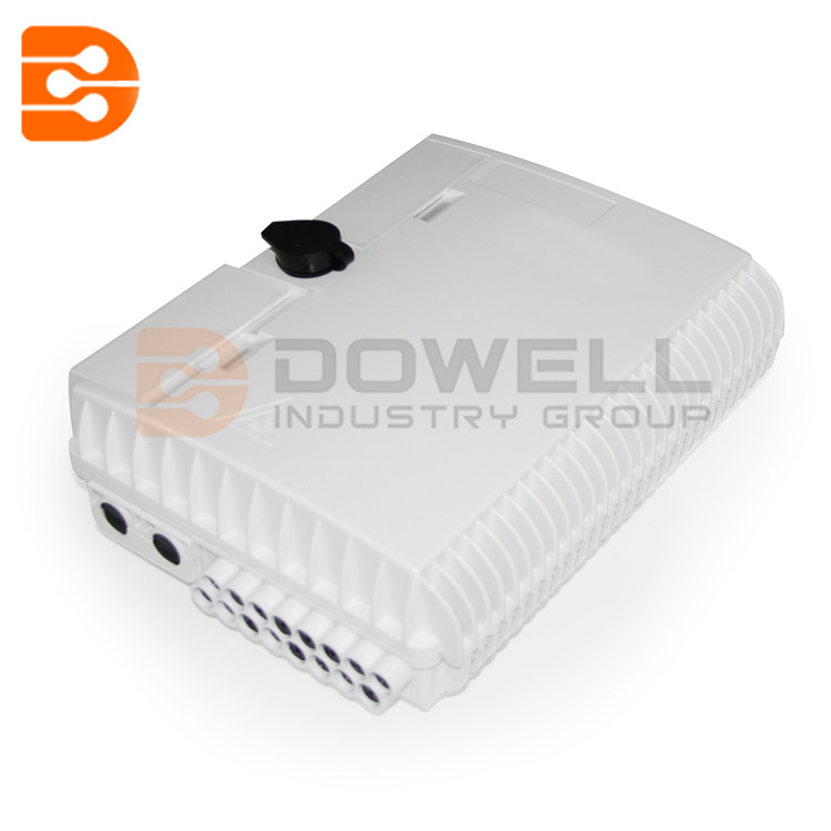 DW-1214 Outdoor 16 Core Fiber Optic Termination Box With SC/APC Adapters