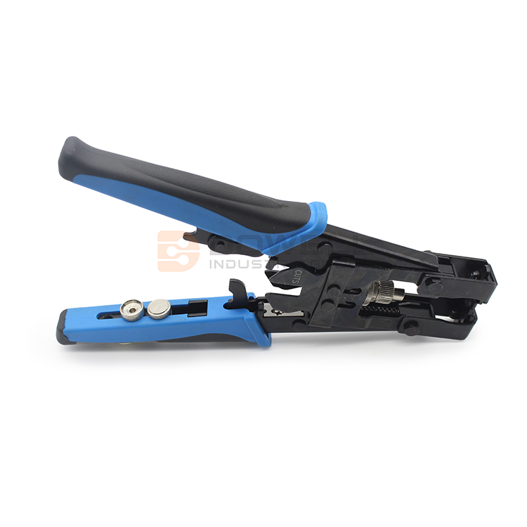DW-8044 Featuring Three Different Adapters China Hot Sale Crimping Tool Multi Pliers