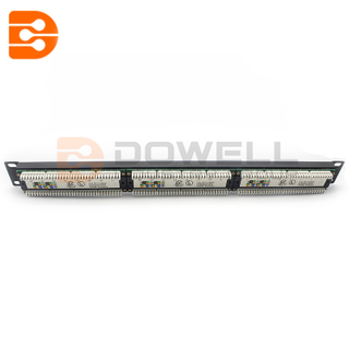 DW-4009 Cat6 24 Port Patch Panel , Patch Panel 24 Port,fiber patch panel