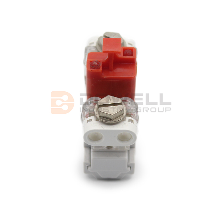 DW-5028 PC Housing 1 Pair Drop Wire VX Module With GDT Protection